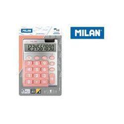 Kalkulator Milan 10 pozycyjny Silver duże klawisze, róż