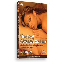 DVD edukacyjne - Alexander Institute The Art of Advanced Oral Educational DVD - Seks oralny dla zaawansowanych