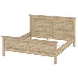 Romantyczne łóżko paris 180x200 cm marki Tvilum