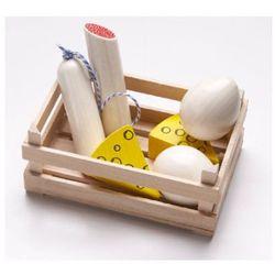 drewniana skrzynka z salami i serem 300563 od producenta Haba