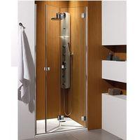 Radaway Carena DWB drzwi wnękowe składane harmonijkowe 90x195 cm 34502-01-01NL lewe