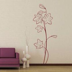 Wally - piękno dekoracji Szablon malarski kwiaty 0992