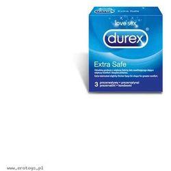 Prezerwatywy Durex Extra Safe A3 (antykoncepcja i erotyka)