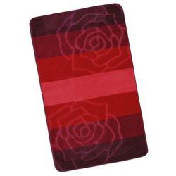 Bellatex Dywanik łazienkowych Elli Czerwona róża, 60 x 100 cm