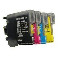 Brother LC985 tusz DCP-J125, DCP-J315W, DCP-J140W, DCP-J515W, MFC-J220, MFC-J265W, MFC-J410, MFC-J415W zestaw,