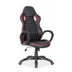 Fotel Q-105 czarno-czerwony - ZADZWOŃ I ZŁAP RABAT DO -10%! TELEFON: 601-892-200
