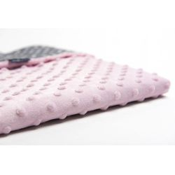 Kocyk Minky Różowy (5902745533919)