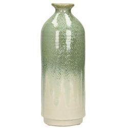 Dekoria wazon nude green wys. 27cm, 10 × 10 × 27 cm