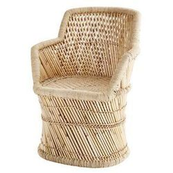 Madam Stoltz - Fotel bambusowy