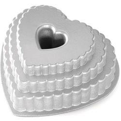 Forma na ciasto serce tiered heart (89937) marki Nordic ware