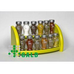 Gald  półka z przyprawami 12-el. zielony mat 5904006098328