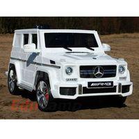 Super-toys Mercedes g63 amg na akumulator 2x45w, otwiera drzwi mocny, miękkie koła/hl168 pojazdy na akumulat