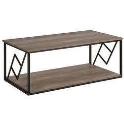 Stolik kawowy ciemne drewno FORRES (4251682206563)