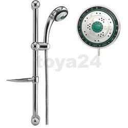 Zestaw łazienkowy- słuchawka czterofunkcyjna+wąż+mydelniczka / 75558 / FALA - ZYSKAJ RABAT 30 ZŁ - sprawdź w wybranym sklepie
