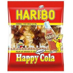 Żelki  happy cola od producenta Haribo