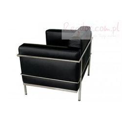 Fotel Soft GC czarna skóra - sprawdź w wybranym sklepie