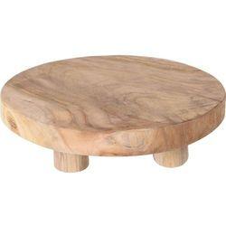 Podstawka pod doniczkę, drewno- Ø 30 cm