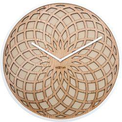 Nextime Zegar ścienny sun  35 cm, beżowy