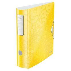 Segregator Leitz Active Wow A4/80 180 żółty 11060016