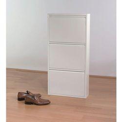 Kare design :: Szafka na buty Caruso 3 biała - Kare design :: Szafka na buty Caruso 3 biała ||biały ze sklepu 9design.pl