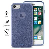 PURO Glitter Shine Cover - Etui iPhone 7 / iPhone 6s / iPhone 6 (Blue) Limited edition
