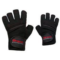 Rękawice kulturystyczne 8REPS DD-107 BeStrong męskie Czerwony (rozmiar M)