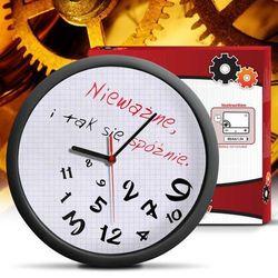 Zegar dla spóźnialskich marki Giftworld