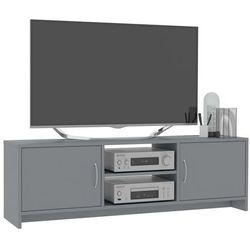 vidaXL Szafka pod TV, szara, 120 x 30 x 37,5 cm, płyta wiórowa
