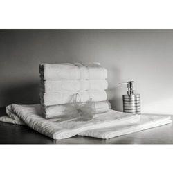 Ręcznik hotelowy lux 450 gr/m2 50x100 cm biały 100% bawełny egipskiej marki Slevo