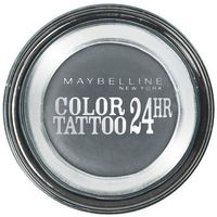 eye studio color tattoo 24 hr cien do powiek w kremie 55 immortal charcoal 4ml marki Maybelline