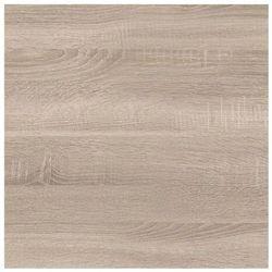 Biuro styl Panel przyblatowy laminowany 1 x 65 x 305 cm dąb sonoma