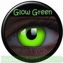 Maxvue vision Glow green, 2 szt. + płyn 60ml