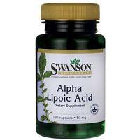 Swanson ALA Kwas alfa liponowy 50mg 120 kaps. (lek preparaty na poziom cukru)