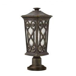 Ogrodowa lampa ścienna enzo hk/enzo2/m elstead tarasowa oprawa zewnętrzna kinkiet outdoor ip44 patyna marki Hinkley