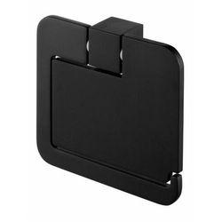Bisk® Uchwyt wc z klapką bisk futura black 02961