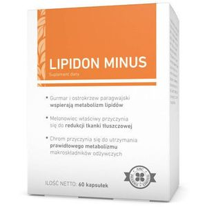 Lipidon minus x 60 kapsułek marki A-z medica