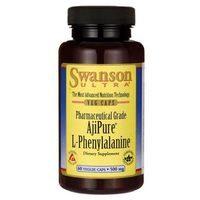 Swanson AjiPure L-fenyloalanina 500mg 60 kaps., SWANSON