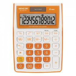 Sencor Kalkulator Biurkowy SEC 363T/OR, duży 12 cyfrowy wyświetlacz, ARSECKKSEC363TO (2455765)