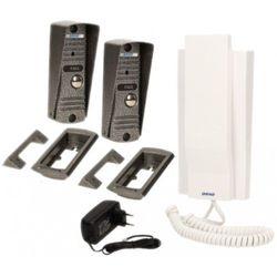 ORNO Zestaw domofonowy jednorodzinny słuchawkowy, wandaloodporny, biały FORNAX OR-DOM-JJ-926/W