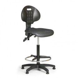 Krzesło PUR, asynchroniczna mechanika, ślizgacze
