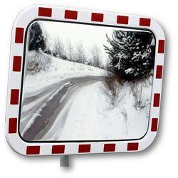 Dancop Lustro drogowe ze szkła akrylowego, prostokątna, wym. lustra: szer. x wys. 600x4