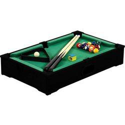 Czarny mini stół bilardowy pool bilard + akcesoria - czarny wyprodukowany przez Makstor.pl