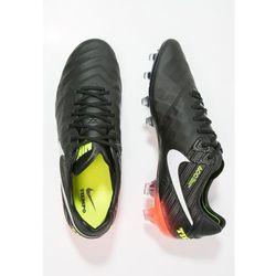 Nike Performance TIEMPO LEGEND VI FG Korki Lanki black/white/hyper orange/volt (0091204902689)