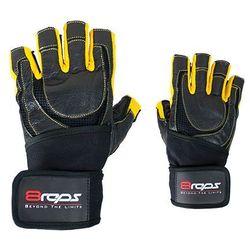 Rękawice kulturystyczne  dd-104w bestrong męskie żółty (rozmiar xl) wyprodukowany przez 8reps