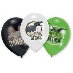 Balony urodzinowe Dinozaury - 27 cm - 6 szt z kategorii Gadżety
