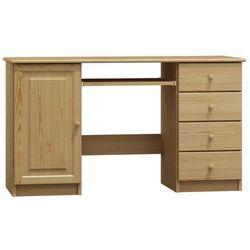 Biurko drewniane conrado głębokość 48cm marki Magnat - producent mebli drewnianych i materacy
