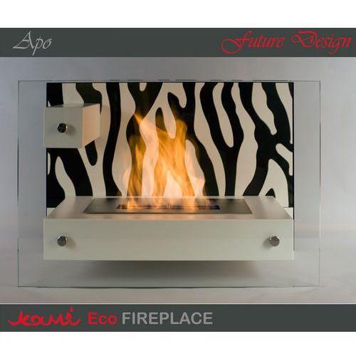Biokominek Apo Zebra White by , Kami z ExitoDesign