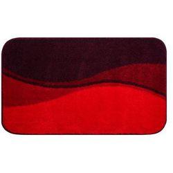 Grund Dywanik łazienkowy FLASH, ruby czerwony, 80x140 cm (8590507348757)