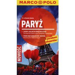 Paryż Przewodnik z atlasem miasta, książka w oprawie miękkej