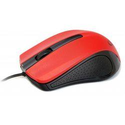 Mysz optyczna 1-scroll black/red (usb)(mus-101-r) marki Gembird